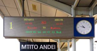 Zeitverschiebung Kenia-Deutschland